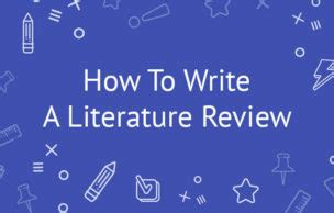 How to write literature review of dissertation